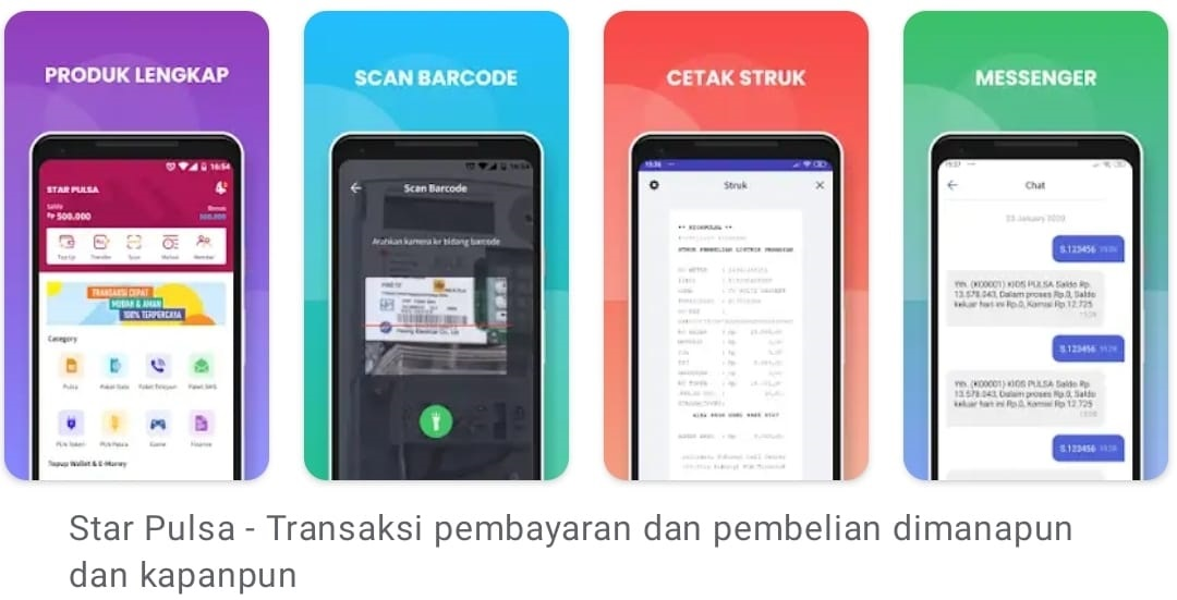 aplikasi android star pulsa
